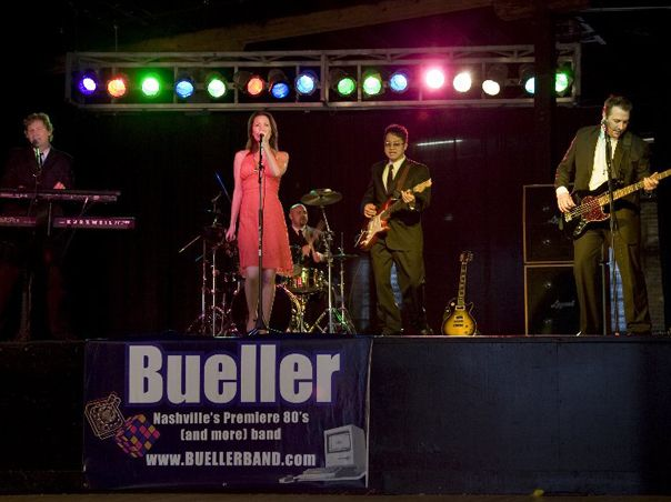 Bueller on stage
